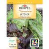 Burpee Baby Red Mix Lettuce Seed Packet