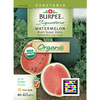 Burpee Bush Sugar Baby Watermelon Seed Packet