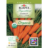 Burpee Short n Sweet Carrot Seed Packet