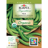 Burpee Dark Seeded Early Perfection Pea Seed Packet