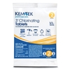 Kem-Tek 5 Step Pool Care 0.5 lbs Individual 3-in Pool Chlorinating Tabs