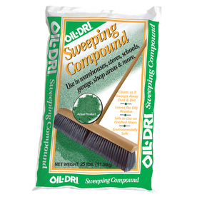 Oil-Dri Green Sweeping Compound