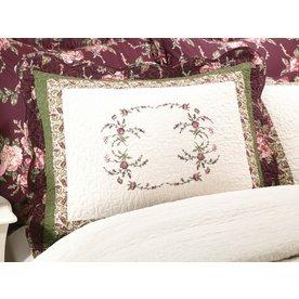 Modern Heirloom Brooke Embroidered 1-Piece Multicolor Full Sham