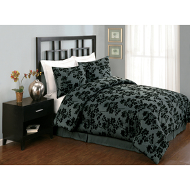 Modern Heirloom Milkweed 4-Piece King Comforter Set