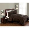 Modern Heirloom Compleatly 4-Piece Brown/Tan Queen Comforter Set