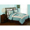 Modern Heirloom Samantha 4-Piece Blue King Comforter Set