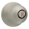 Kwikset Polo Satin Nickel Round Turn Lock Residential Privacy Door Knob