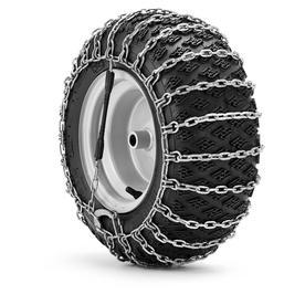 Husqvarna 18-in x 9-1/2-in x 8-in Tire Chains