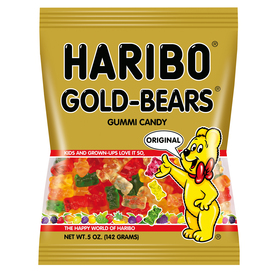 Haribo 5-oz Gold-Bears Gummi Snacks