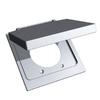 REDDOT 2-Gang Square Plastic Weatherproof Electrical Box Cover
