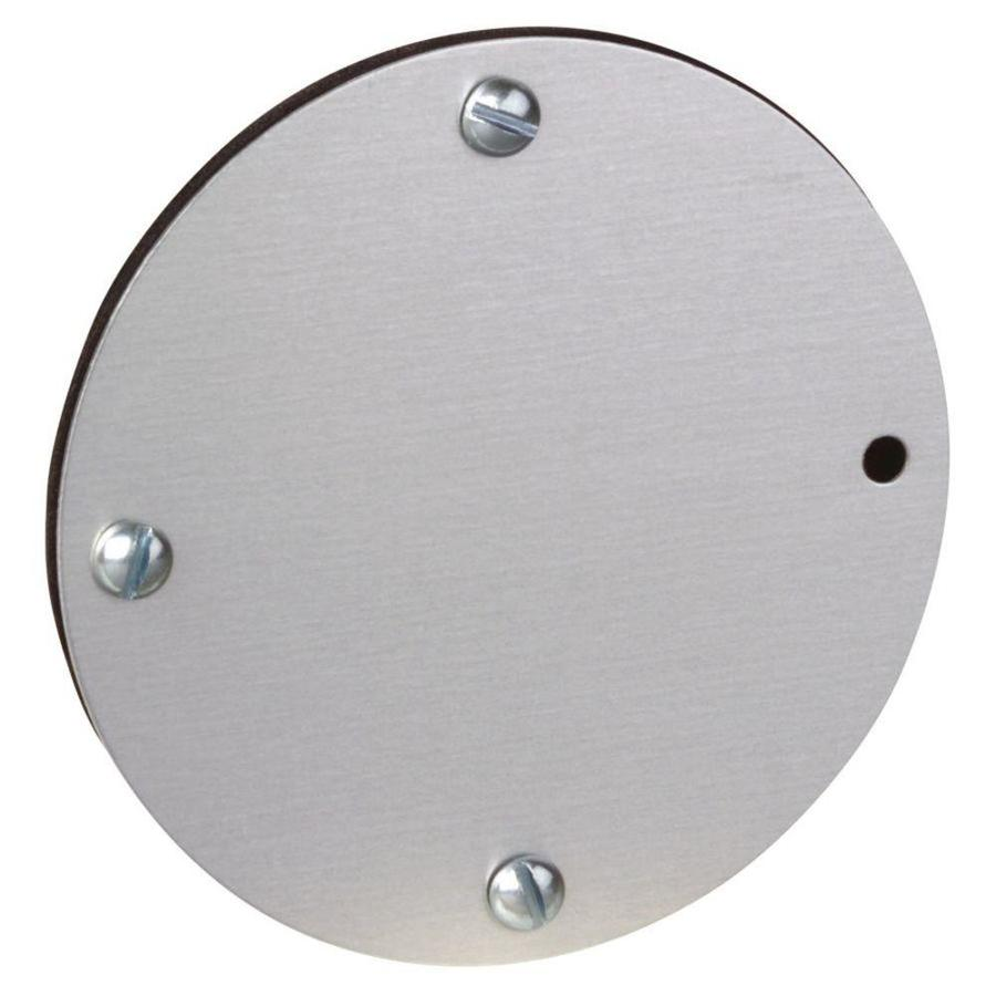 Shop REDDOT Round Metal Electrical Box Cover At