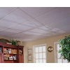 Armstrong Textured Contractor 10-Pack White Textured 15/16-in Drop Acoustic Panel Ceiling Tiles (Common: 48-in x 24-in; Actual: 47.719-in x 23.719-in)