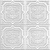 Armstrong 40-Pack 12-in x 12-in Tin Look Wellington HomeStyle Ceiling Tile Panel