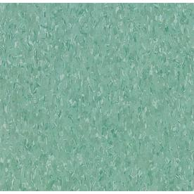 Armstrong 12-in x 12-in Teal Speckle Pattern Commercial Vinyl Tile
