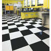 Armstrong 12-In x 12-In Black Pattern Commercial Vinyl Tile