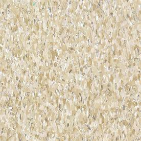 Armstrong 12-in x 12-in Cottage Tan Speckle Pattern Commercial Vinyl Tile