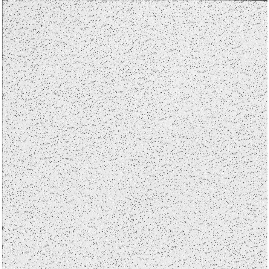 Shop Armstrong Textured Contractor 16 Pack White 15 16 In