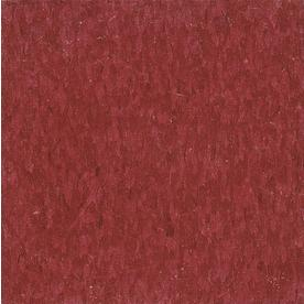 Armstrong 12-in x 12-in Pomegranate Red Speckle Pattern Commercial Vinyl Tile