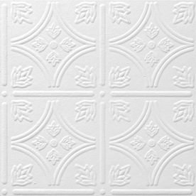 Armstrong 12-in x 12-in Tin Look Tintile HomeStyle Ceiling Tile Panel