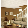Armstrong Oasis HomeStyle 16-Pack White Smooth 15/16-in Drop Acoustic Panel Ceiling Tiles (Common: 24-in x 24-in; Actual: 23.704-in x 23.704-in)