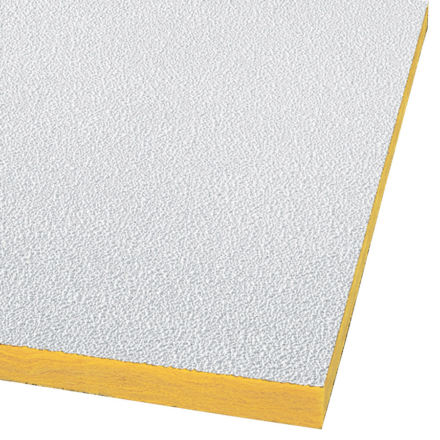 Shop Armstrong 16-Pack Ceiling Tiles (Actual: 47.719-in x ...