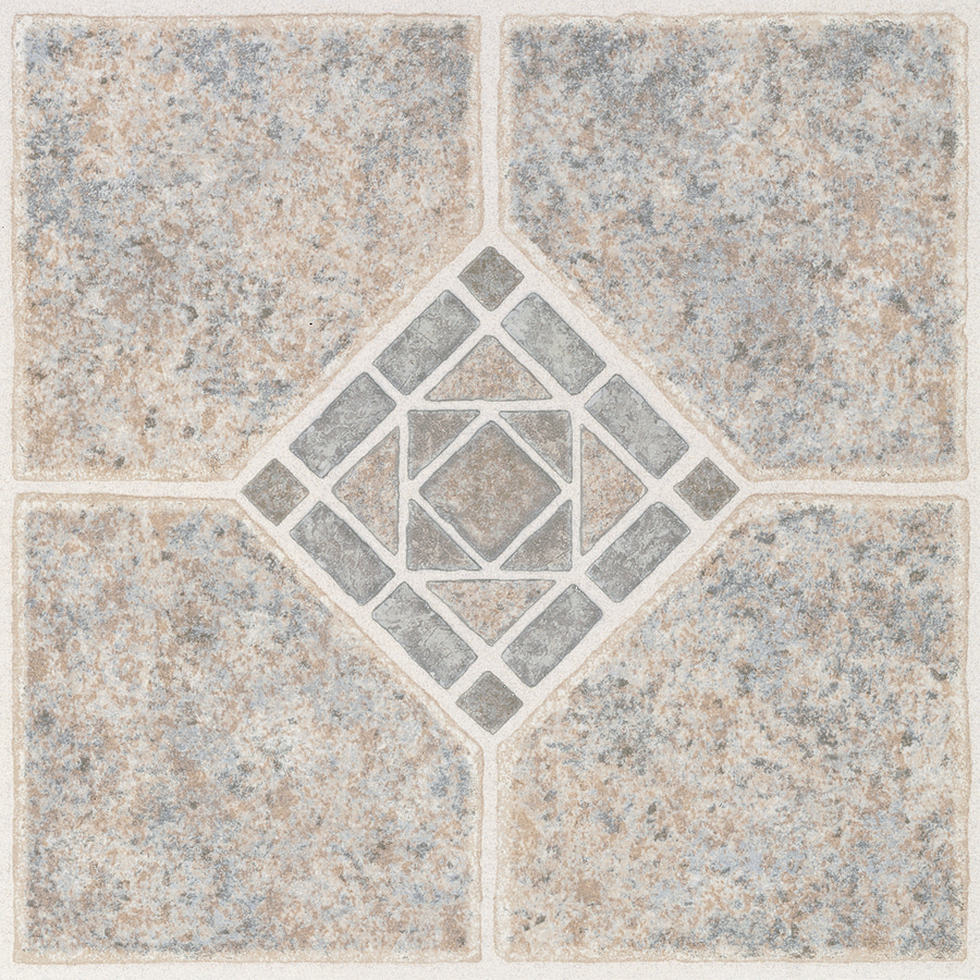 Shop style selections 12 in x 12 in basil peel and stick ceramic residential vinyl tile at - Lowes discontinued tile ...