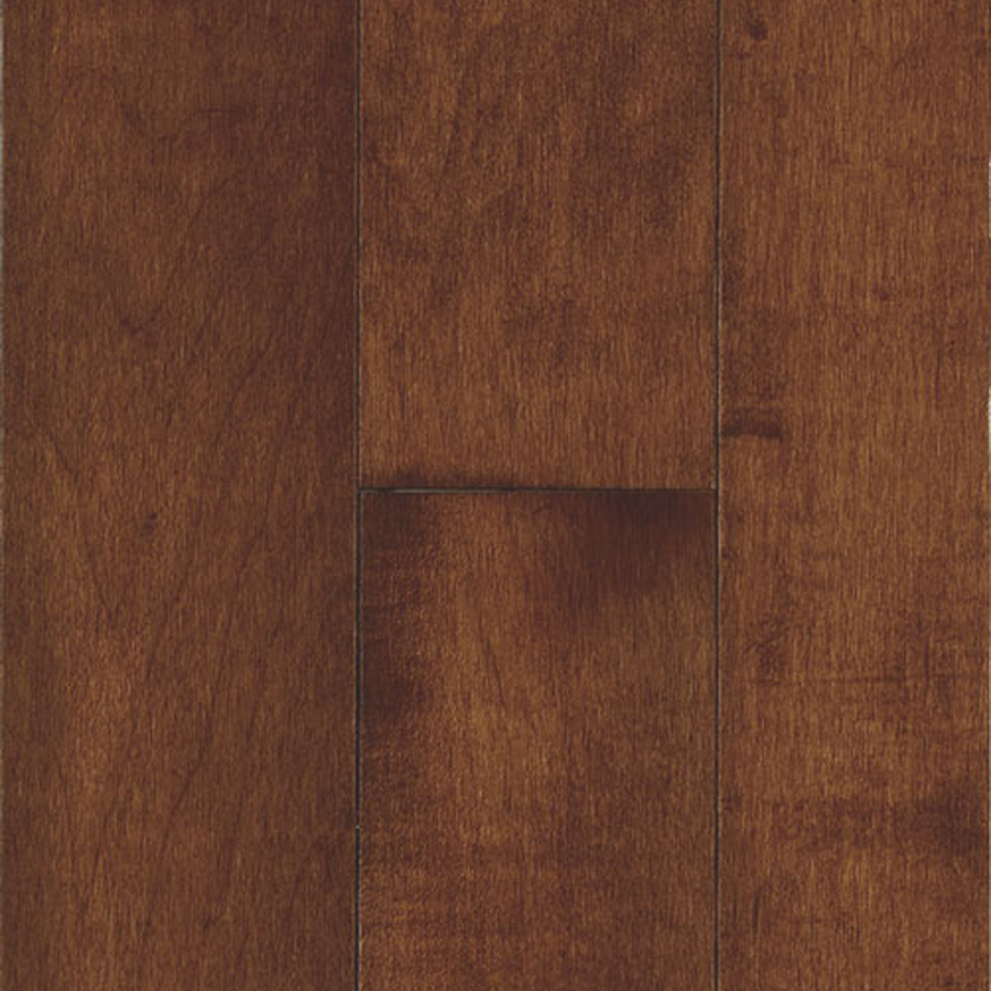 Shop bruce natural reflections w prefinished maple for Cherry hardwood flooring