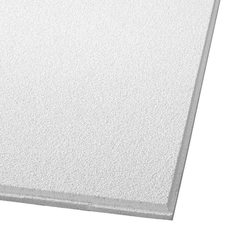 Shop Armstrong 16-Pack Dune Ceiling Tile Panels (Common: 24-in x 24-in; Actual: 23.745-in x 23 ...