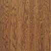 Bruce 0.375-in Oak Locking Hardwood Flooring Sample (Gunstock)