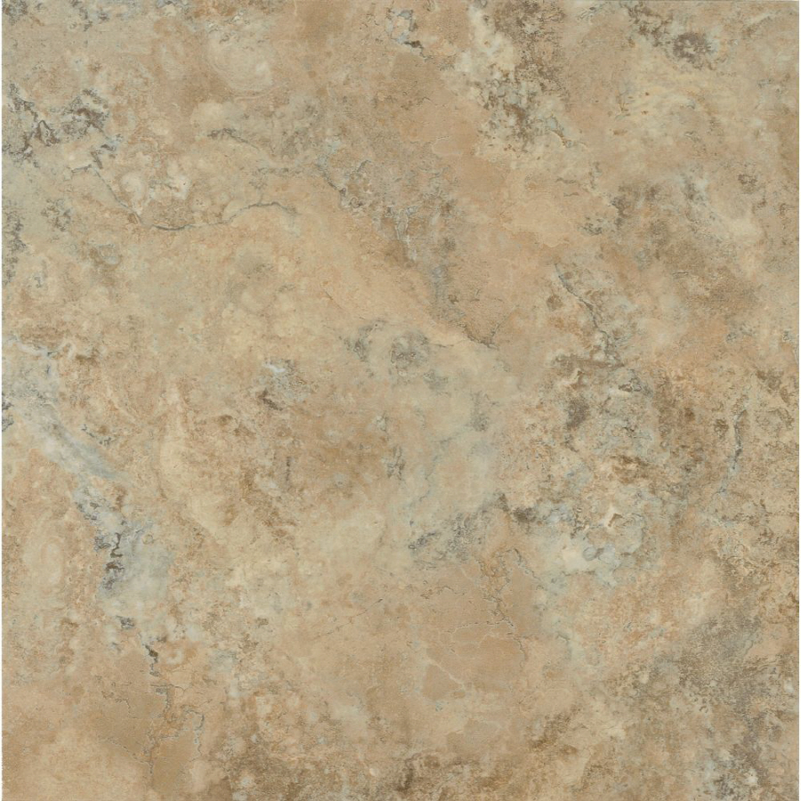Shop armstrong terraza 12 in x 12 in buff peel and stick for 12x24 vinyl floor tile