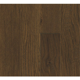 Bruce America's Best Choice 4.8-in W Prefinished Oak Locking Hardwood Flooring (Calico Brown)