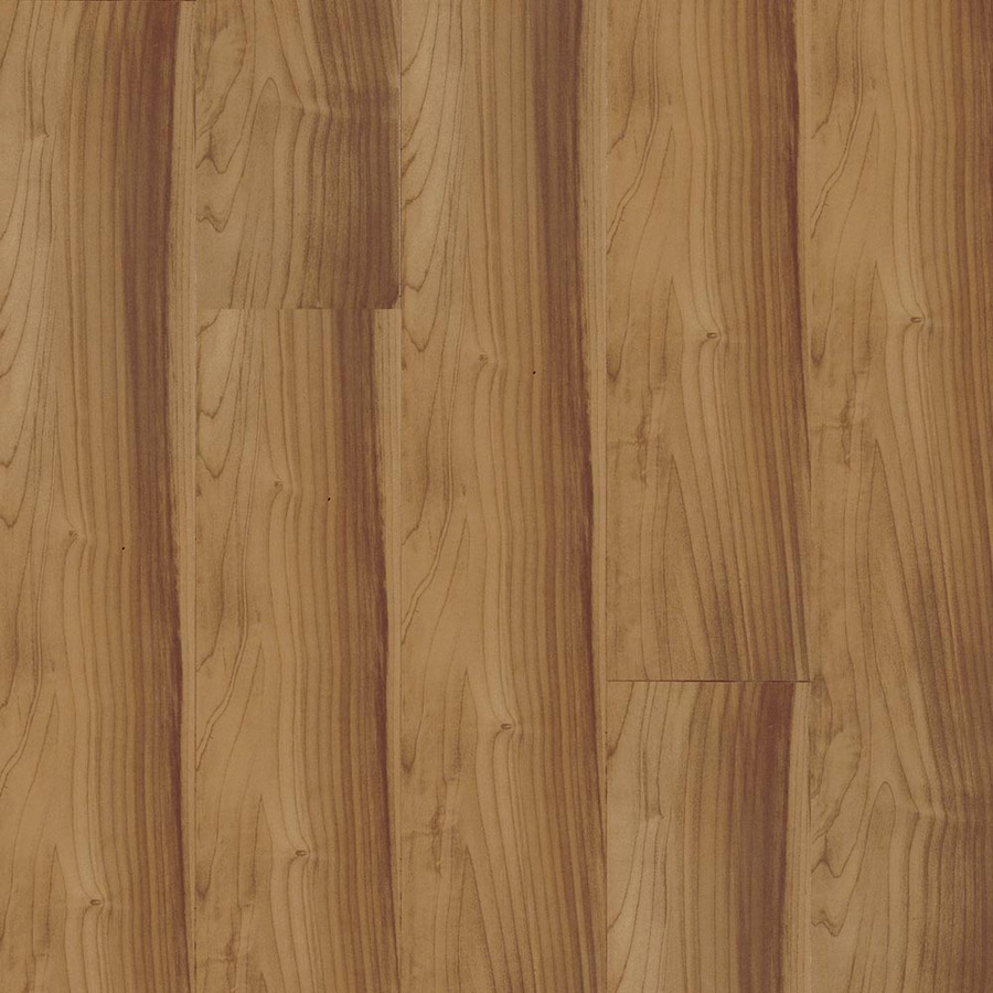 Shop armstrong beveled wood 4 3 4 in w x 50 5 8 in l amur for Beveled laminate flooring