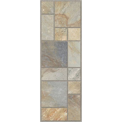 Travertine Quartz Vinyl Floor Tile From Lowes Vinyl Flooring House