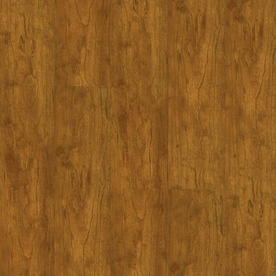 Armstrong 4.92-in W x 3.98-ft L Natural Cherry High-Gloss Laminate Wood Planks
