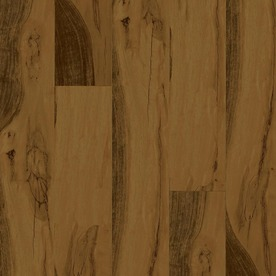 Armstrong 4.92-in W x 3.98-ft L Walnut High-Gloss Laminate Wood Planks