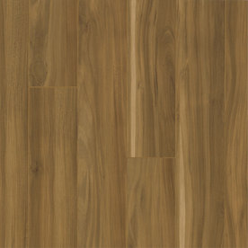 Armstrong Premium Lustre 4.92-in W x 3.97-ft L Summer Tan Smooth Commercial Laminate Planks