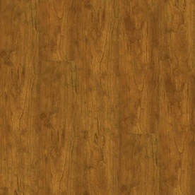 Armstrong 4.92-in W x 3.93-ft L Natural Cherry High-Gloss Laminate Wood Planks