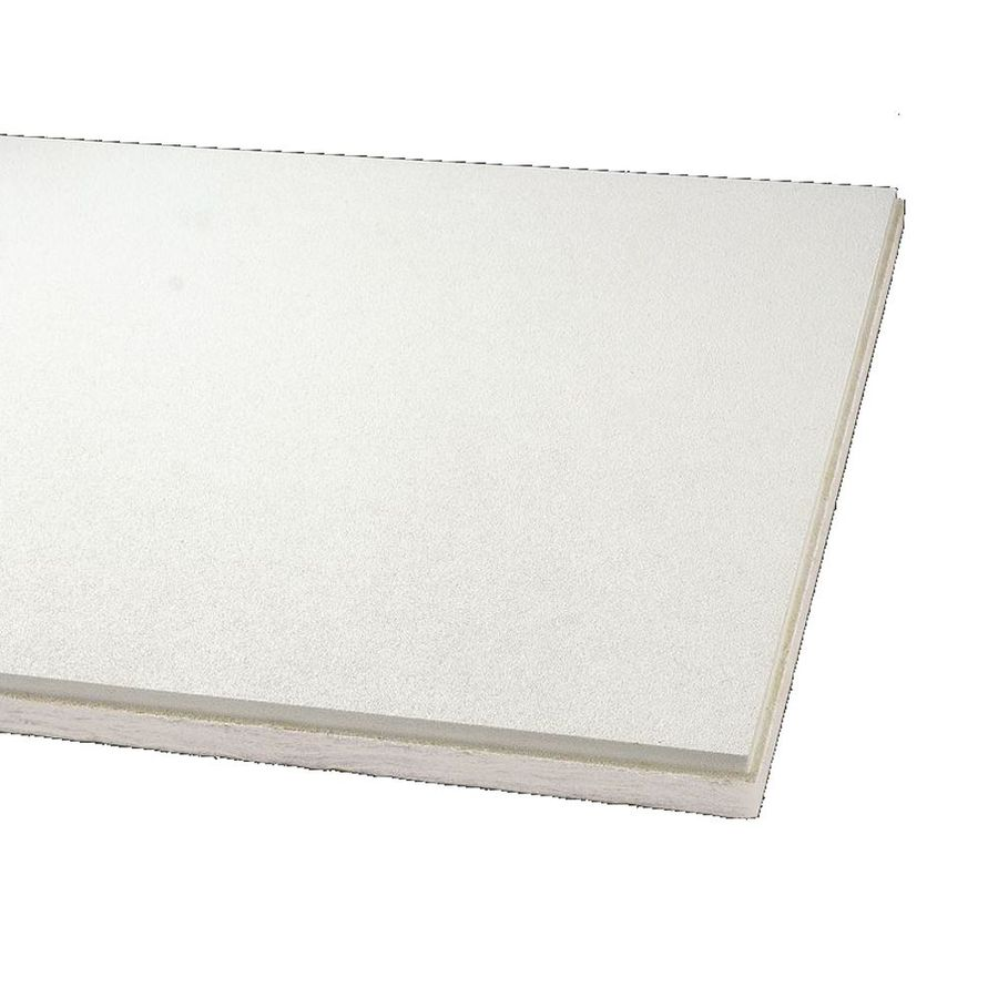 Armstrong 12 Pack Optima Ceiling Tile Panel (Common 24 in x 48 in ...