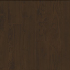 Armstrong High Gloss 4.92-in W x 3.98-ft L Deep Forest Maple Wood Plank Laminate Flooring