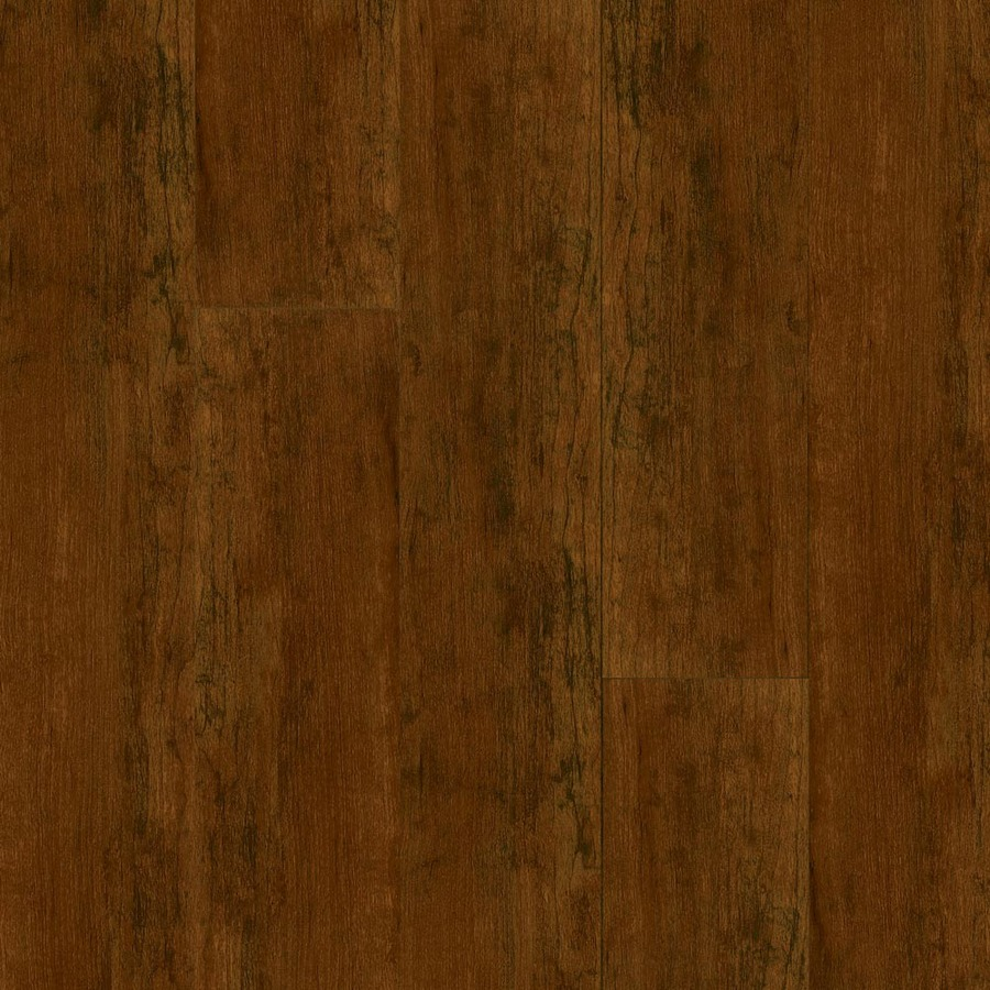 Shop armstrong w x l aged cherry high for Cherry laminate flooring