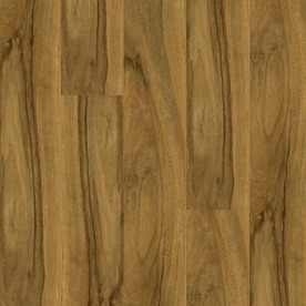 Armstrong High Gloss 4.92-in W x 3.93-ft L Woodland Walnut High-Gloss Laminate Floor Wood Planks