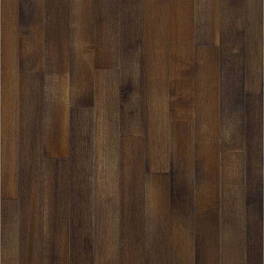 Shop bruce 2 5 in w maple hardwood flooring at for Hardwood floors at lowes