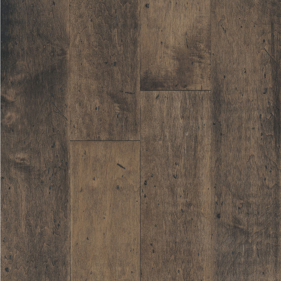 Shop bruce america 39 s best choice 5 in w prefinished maple for Maple flooring