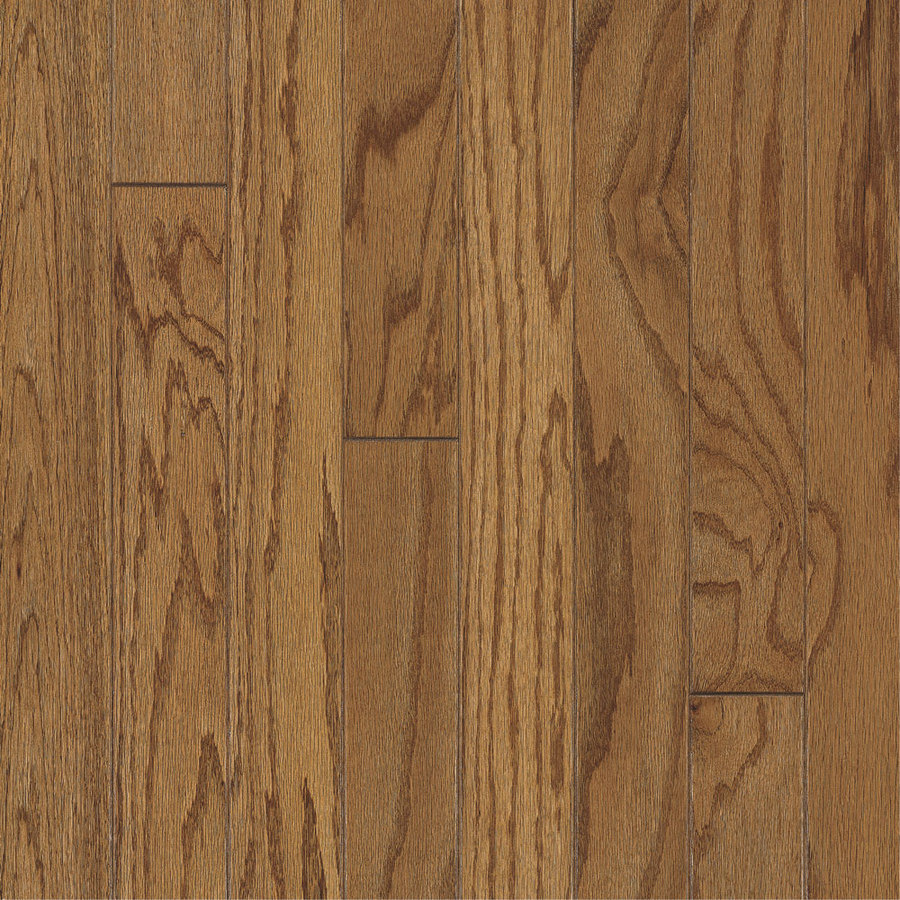 Shop bruce america 39 s best choice 3 in w prefinished oak for Pre finished hardwood flooring