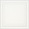 Armstrong Easy Elegance White Coffered 15/16-in Drop Panel Ceiling Tile (Common: 24-in x 24-in; Actual: 23.75-in x 23.75-in)