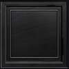 Armstrong Easy Elegance Black Coffered 15/16-in Drop Panel Ceiling Tile (Common: 24-in x 24-in; Actual: 23.75-in x 23.75-in)