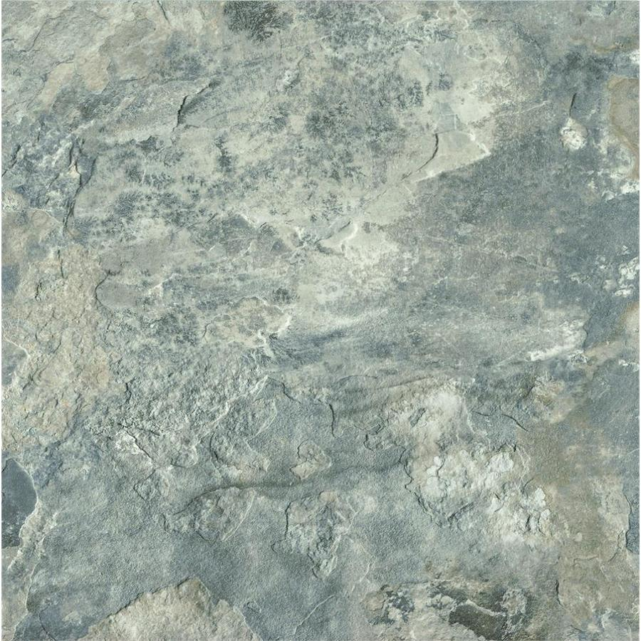 Shop Armstrong Crescendo 12 In X 12 In Groutable French Gray Peel And Stick Luxury Vinyl Tile At