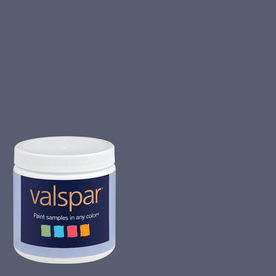 Valspar 8-oz La Fonda Midnight Interior Satin Paint Sample