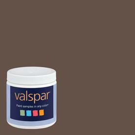 Valspar 8-oz Swiss Chocolate Interior Satin Paint Sample