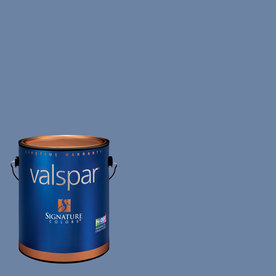 Creative Ideas for Color by Valspar Gallon Size Container Interior Matte Pre-Tinted Faded Denim Latex-Base Paint and Primer in One (Actual Net Contents: 127.4-fl oz)